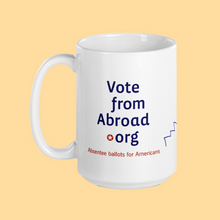 Load image into Gallery viewer, VoteFromAbroad Mug
