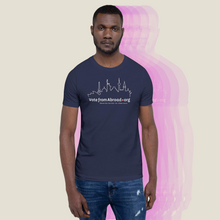 Load image into Gallery viewer, VoteFromAbroad Men's Tee