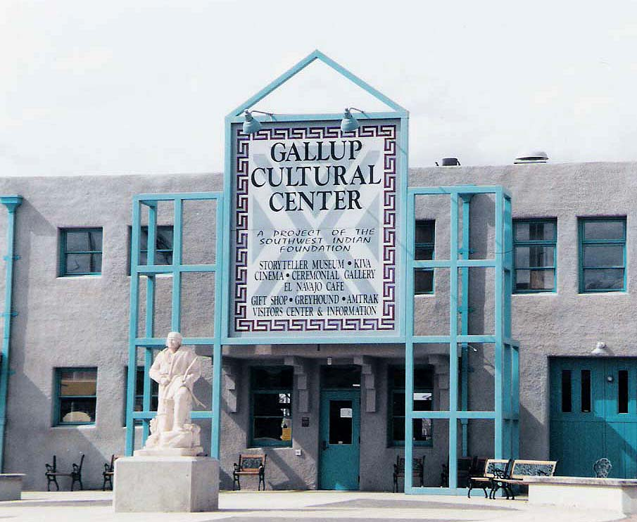 Trip to Zuni - Image of Gallup Cultural Center