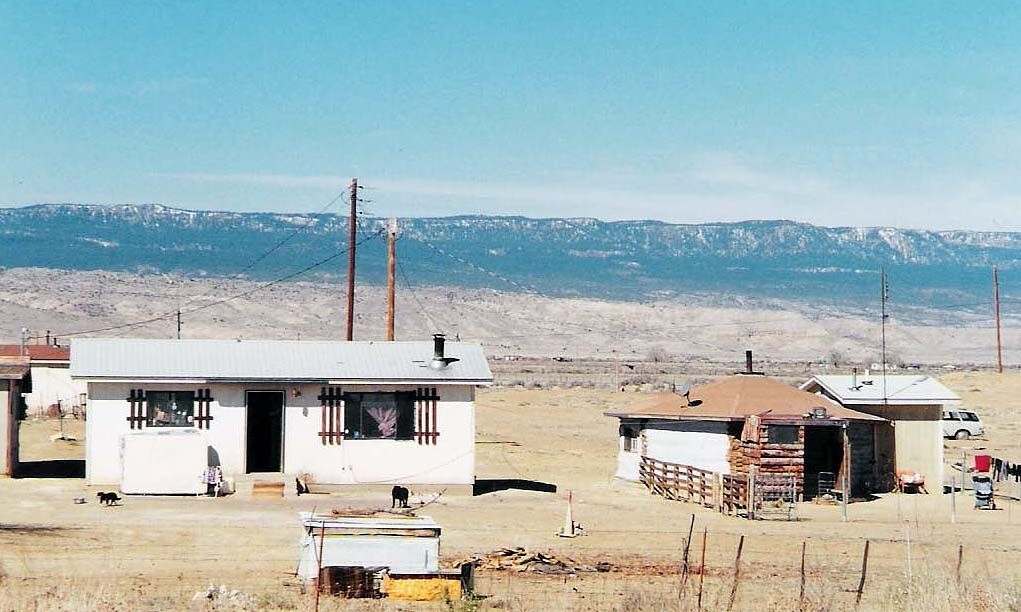 Trip to Zuni - Image of typical Navajo homestead