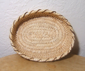 Coiled Papago Tohono O'Odham Coiled Basket