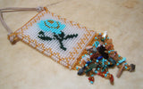 Jerilena Touchin Beaded Pouch/ Necklace