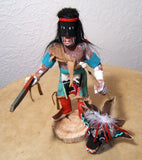Ray Tom Black Ogre with Removable Mask Kachina