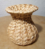 Papago To O'Odham Indian Basket Vase