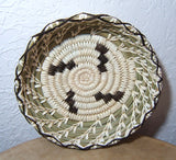 Tohono O'Odham Lightning Indian Basket