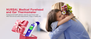 Nursal Medical Forehead and ear thermometer