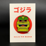 LIMITED OFFER - 'Best of' Kaiju Snap - GOLD Card Game & Godzilla Badge Bundle