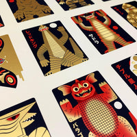 Uncut Sheets - Kaiju Snap GOLD - Edition of 25 -LAST TWO!