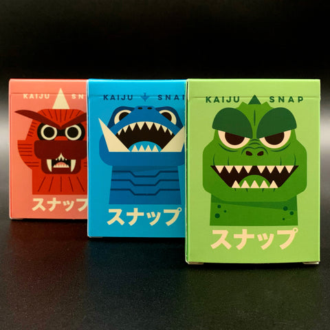 Kaiju Snap 1, 2 & 3 Game Cards Bundle