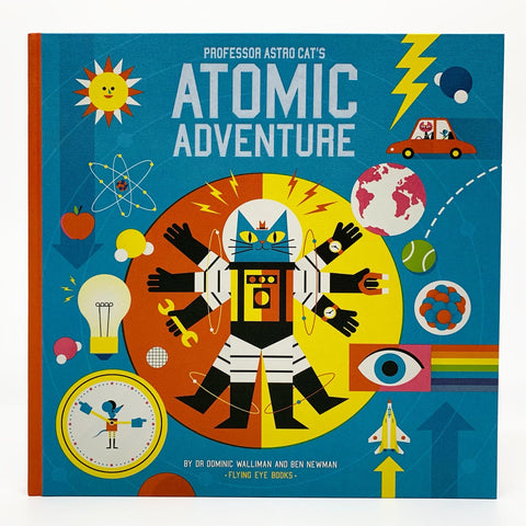Professor Astro Cats Atomic Adventure SIGNED