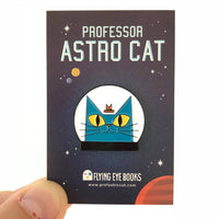 Professor Astro Cat's Frontiers Of Space SIGNED w/ pin badge