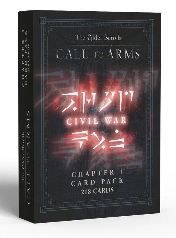 The Elder Scrolls: Call to Arms - Civil War Chapter 1 Card Pack