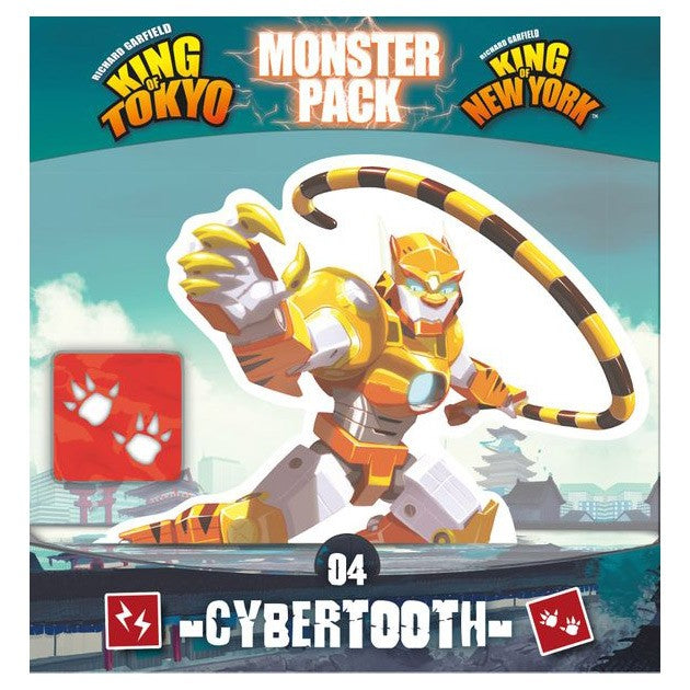 King of Tokyo (2nd Edition): Monster Pack 4: Cybertooth (ADD TO CART TO SEE LOW PRICE)
