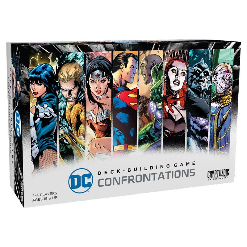 DC Comics Deck Building Game: Confrontations (ADD TO CART TO SEE LOW PRICE)