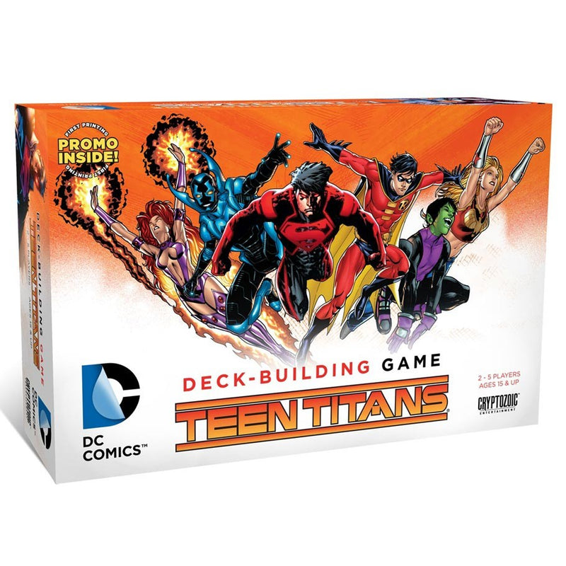 DC Comics Deck Building Game: Teen Titans (ADD TO CART TO SEE LOW PRICE)