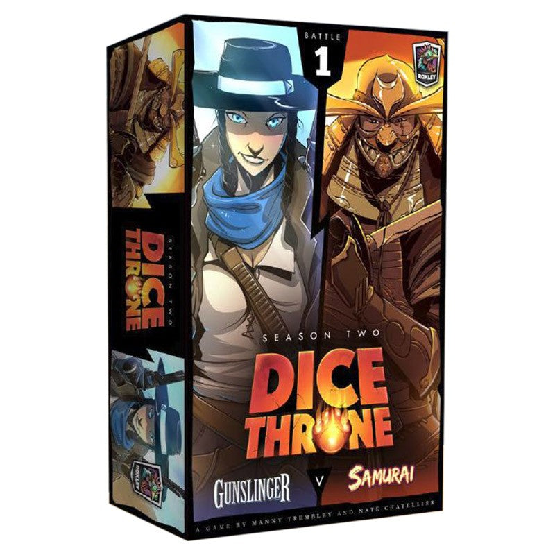Dice Throne: Season 2: Gunslinger vs. Samurai (ADD TO CART TO SEE LOW PRICE)