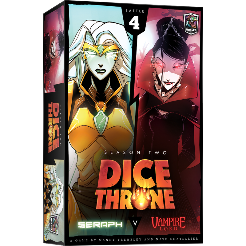 Dice Throne: Season 2: Seraph vs. Vampire Lord (ADD TO CART TO SEE LOW PRICE)