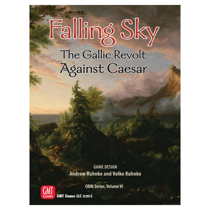 Falling Sky: The Gallic Revolt Against Caesar (2nd Printing)