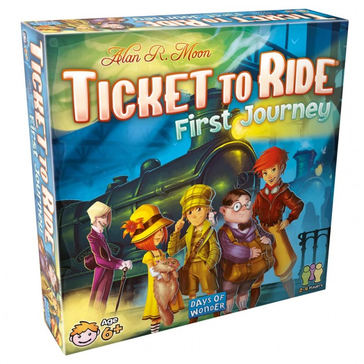 Ticket to Ride: First Journey (ADD TO CART TO SEE LOW PRICE)