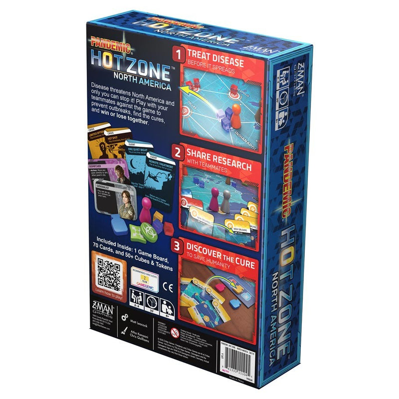 Pandemic Hot Zone: North America (ADD TO CART TO SEE LOW PRICE)