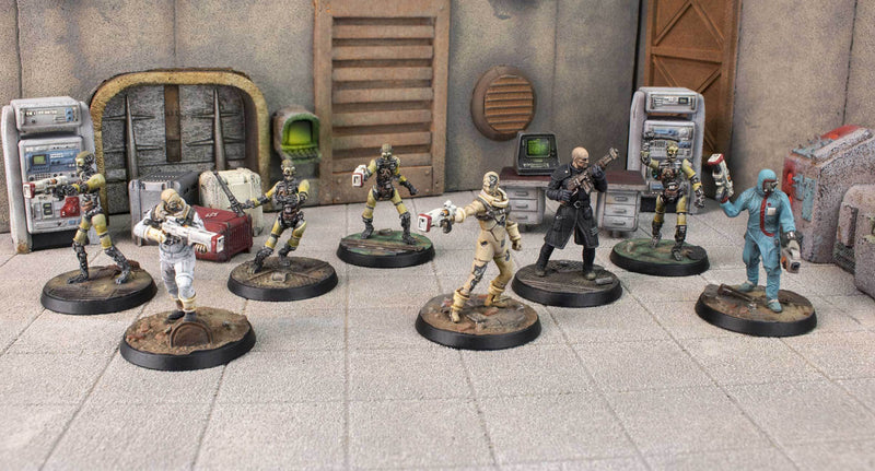 Fallout: Wasteland Warfare - Institute: Core Faction Box