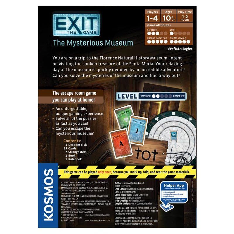 EXIT: The Mysterious Museum (ADD TO CART TO SEE LOW PRICE)