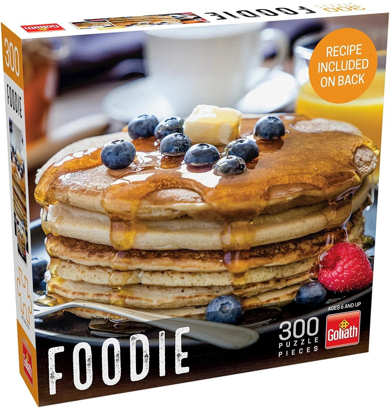 Puzzle: Foodie - Pancakes (300 Pieces)