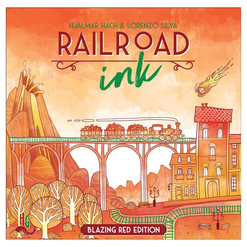 Railroad Ink: Blazing Red Edition
