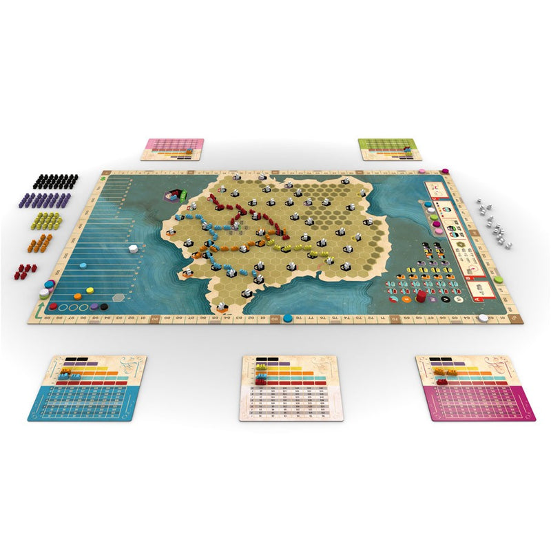 Ride the Rails: France and Germany Expansion Map (ADD TO CART TO SEE LOW PRICE)