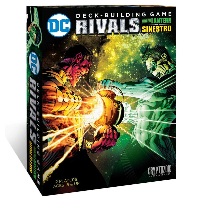DC Comics Deck Building Game: Rivals - Green Lantern v Sinestro (ADD TO CART TO SEE LOW PRICE)