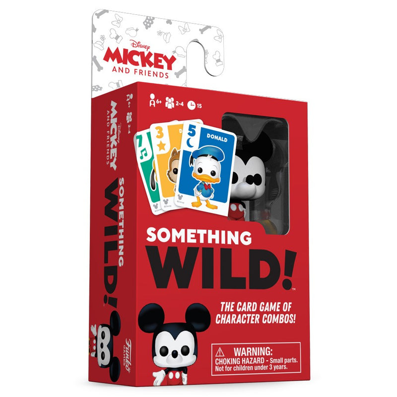 Something Wild Card Game: Mickey & Friends