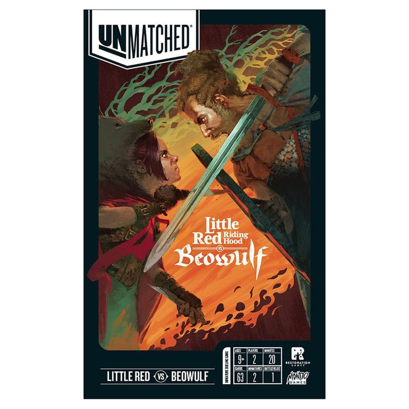 Unmatched: Little Red Riding Hood v. Beowulf (ADD TO CART TO SEE LOW PRICE)