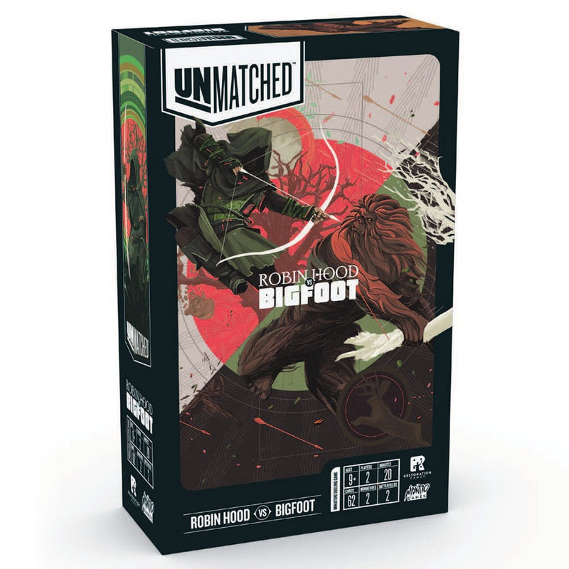 Unmatched: Robin Hood vs. Bigfoot (ADD TO CART TO SEE LOW PRICE)