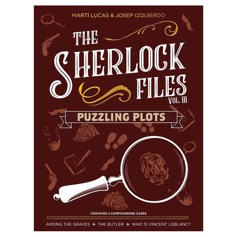 The Sherlock Files: Vol. 3 - Puzzling Plots