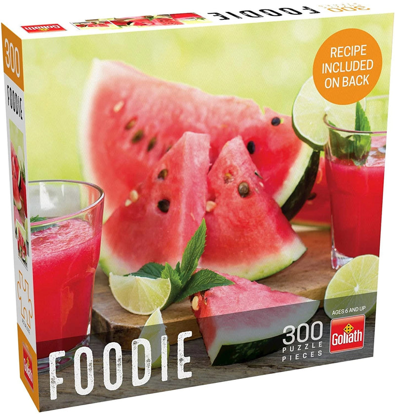 Puzzle: Foodie - Watermelon (300 Pieces)