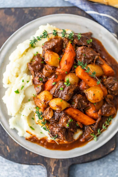 Apple Cider Beef Bourguignon - Wednesday 2/17