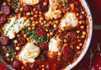 Spanish Chorizo, White Fish and Chickpea Stew - Tuesday 2/9
