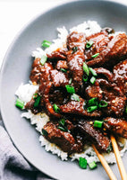 Mongolian Beef with Broccoli - Friday 3/5