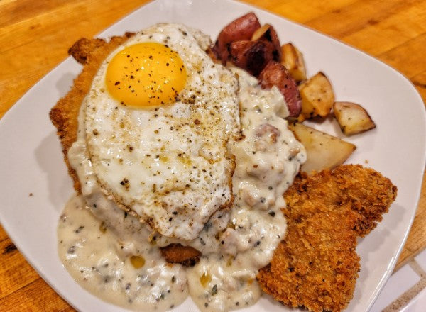 Chicken Fried Pork Steak - Friday 3/19