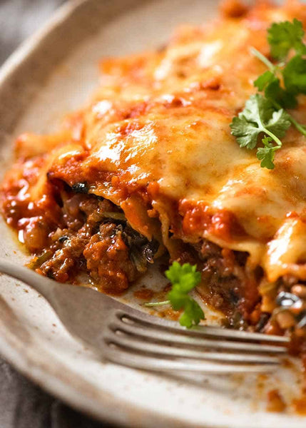 Ricotta and Bolognese Manicotti-Wednesday-6/2