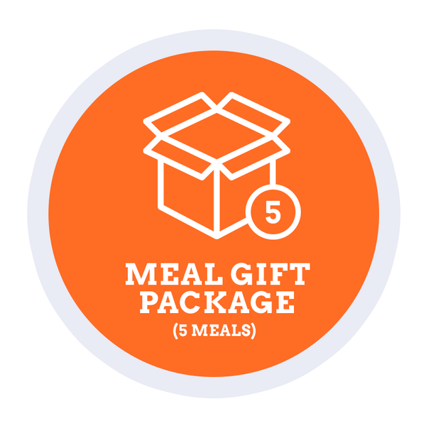 Meal Gift Package - 5 Meals