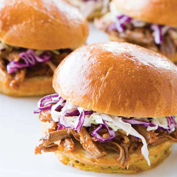 Down Home Southern Pulled Pork Sandwiches