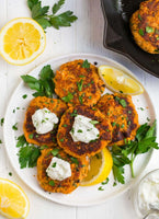 Pan Seared Salmon Cakes-Wednesday-6/9