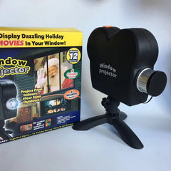 3D Holiday Projector- Package Includes