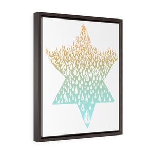 """Fire Water"" Framed"