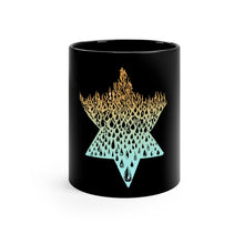 "Load image into Gallery viewer, ""Fire Water"" Black mug 11oz"