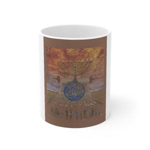 """Menora Light"" Mug 11oz"