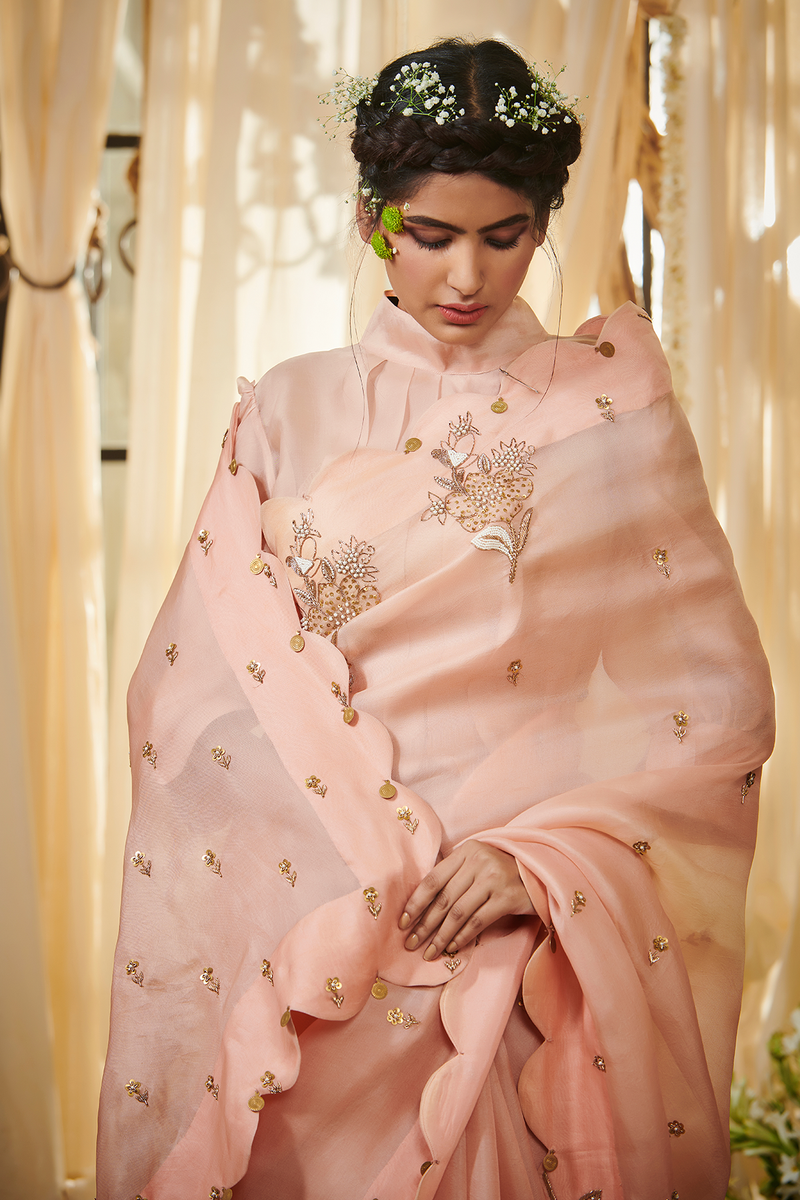 Lotus Scallop Gazal Gupta Couture