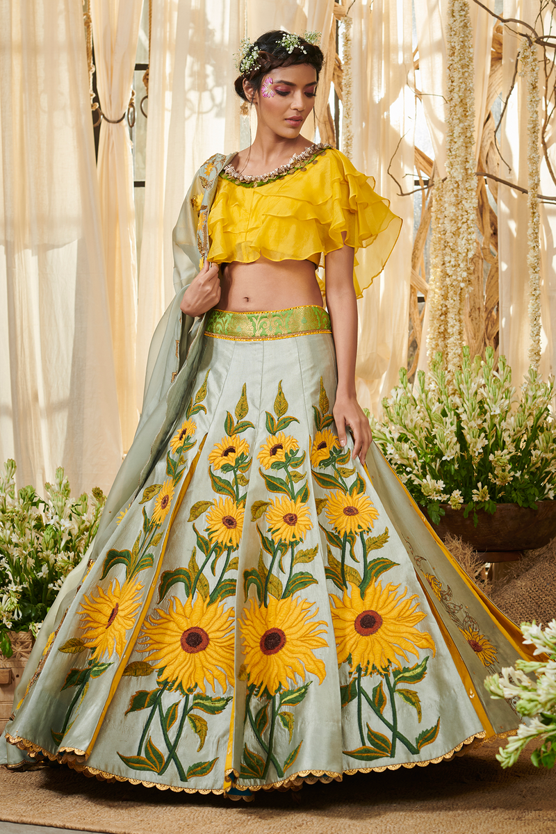 Sunflower Gazal Gupta Couture