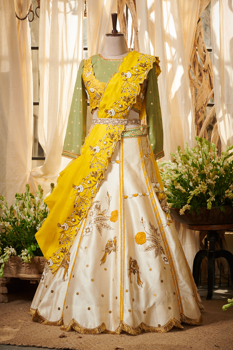 Parrot Jacket Gazal Gupta Couture